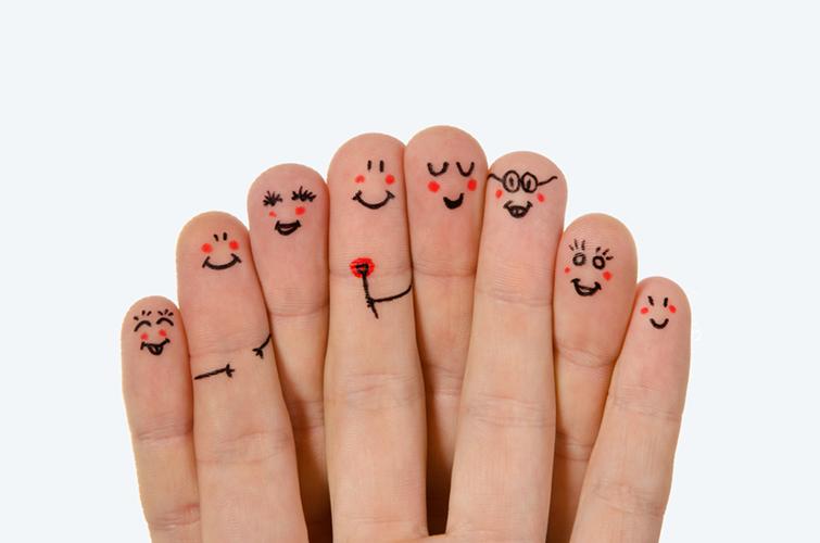 Štastná rodina - dobrá nálada