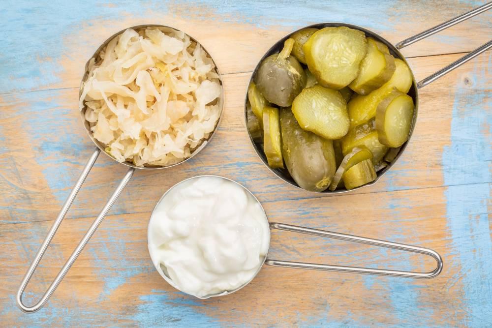 probiotika v potravinách